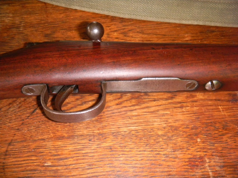 war office pattern miniature rifle. en calibre 22lr. Dscn1118