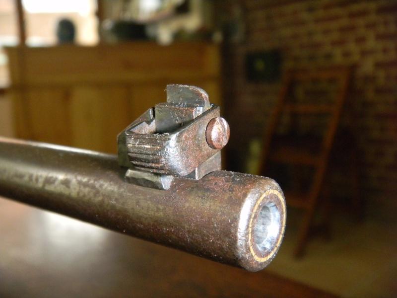 war office pattern miniature rifle. en calibre 22lr. Dscn1119