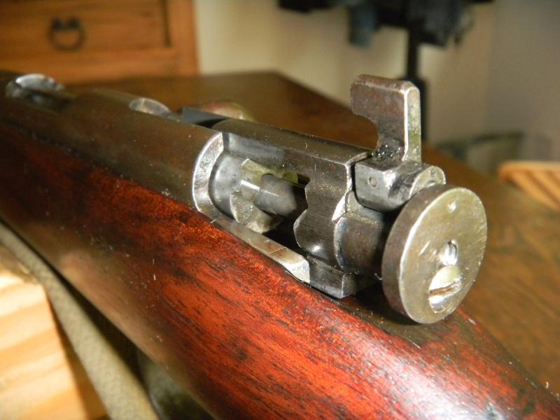 war office pattern miniature rifle. en calibre 22lr. Dscn1120