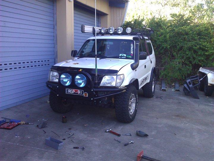 my new rig the PRADO 26905411