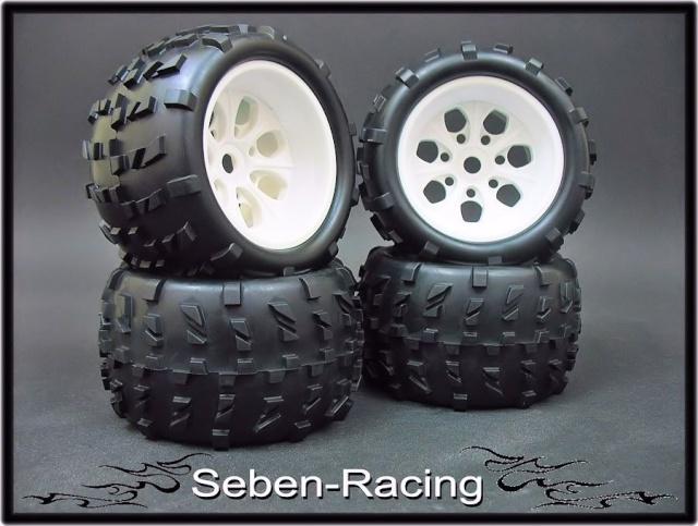 Roues Seben Racing MRF6 avec hexagone 17 Image346