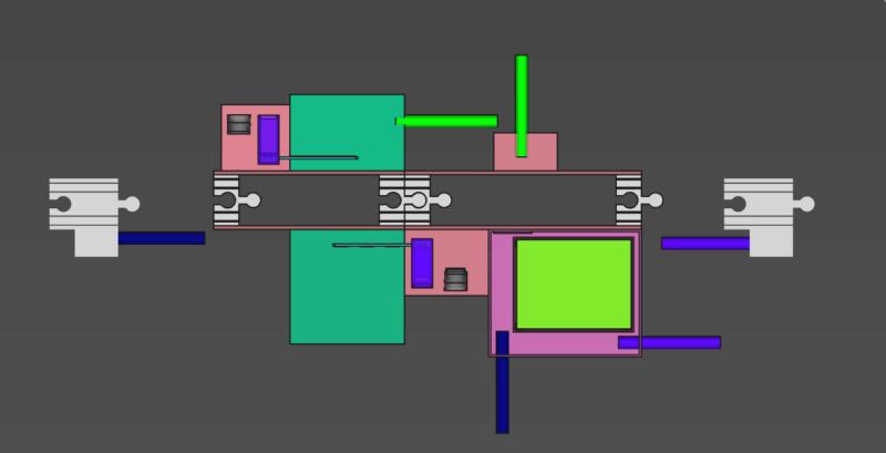 [Train bois] Passage à niveau piloté par Arduino 113