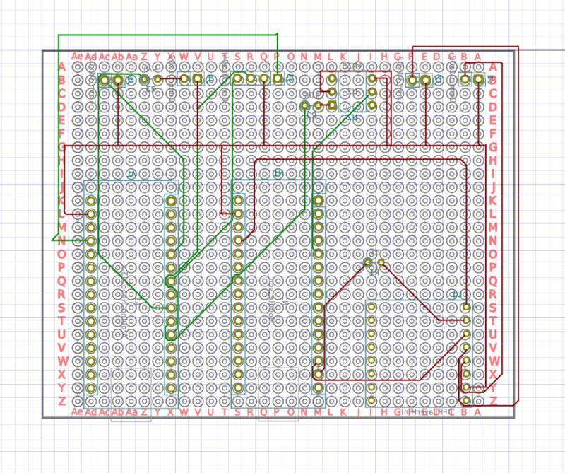 [Train bois] Passage à niveau piloté par Arduino 412