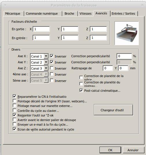 Présentation CNC Makko M1070 Su Avance10