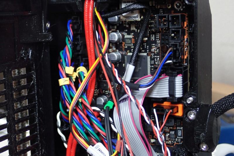 """Prusa MK3S. HELP, fil bloqué et message : """"appuyez sur le bouton pour décharger le filament"""" Branch11"""