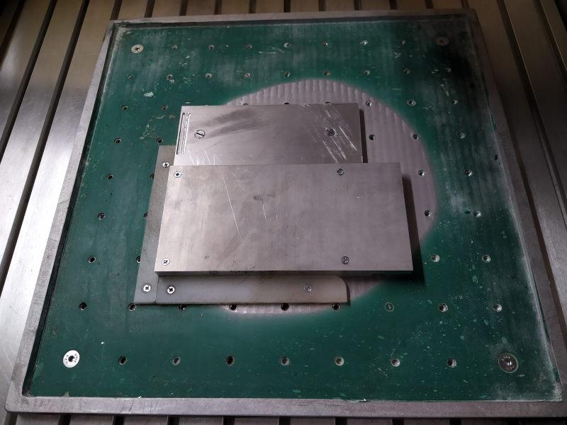 CNC Une tête de fourche de moto (à bascule) - Alu 10 mm Bride_10