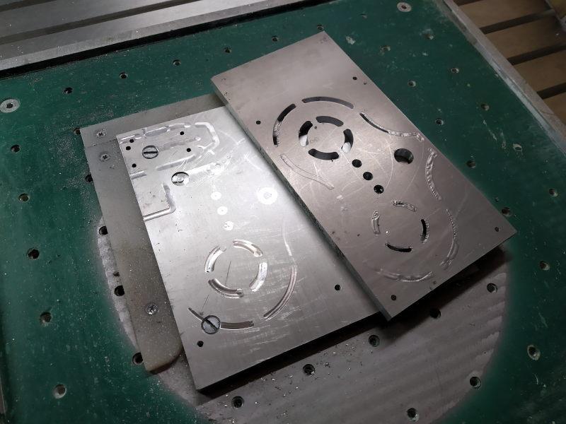 CNC Une tête de fourche de moto (à bascule) - Alu 10 mm Bride_22
