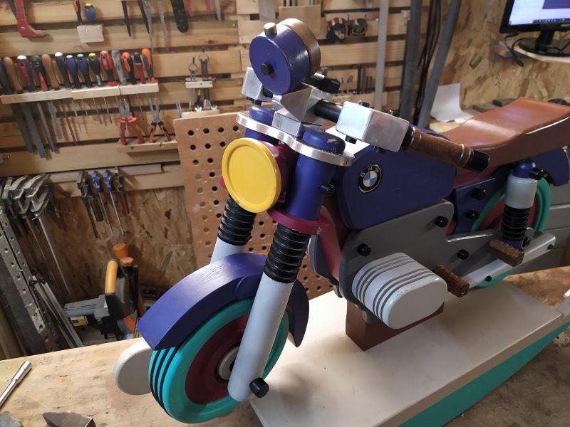CNC Une tête de fourche de moto (à bascule) - Alu 10 mm Bride_24