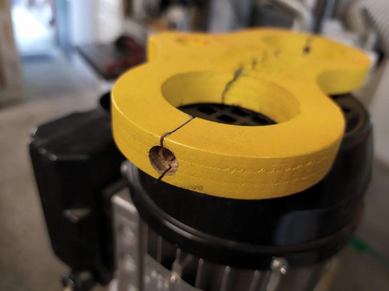 CNC Une tête de fourche de moto (à bascule) - Alu 10 mm Bride_27