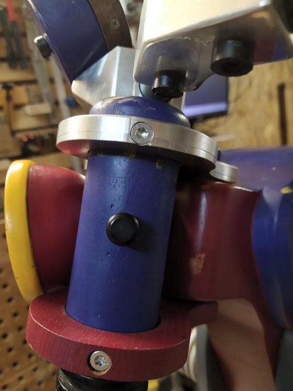 CNC Une tête de fourche de moto (à bascule) - Alu 10 mm Bride_29