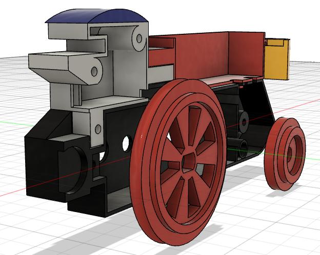 Loco « électrique » en 3D pour le train en bois BRIO - Page 2 Captur29