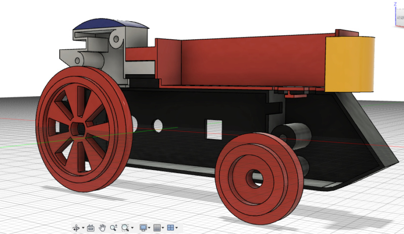 Loco « électrique » en 3D pour le train en bois BRIO - Page 2 Captur30