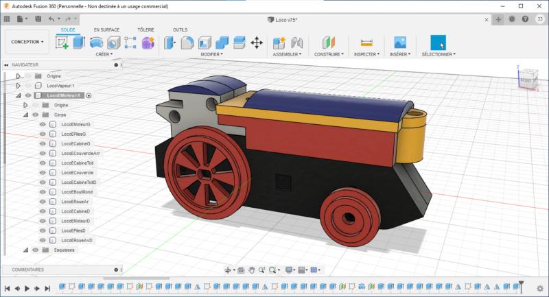 Loco « électrique » en 3D pour le train en bois BRIO - Page 2 Captur31