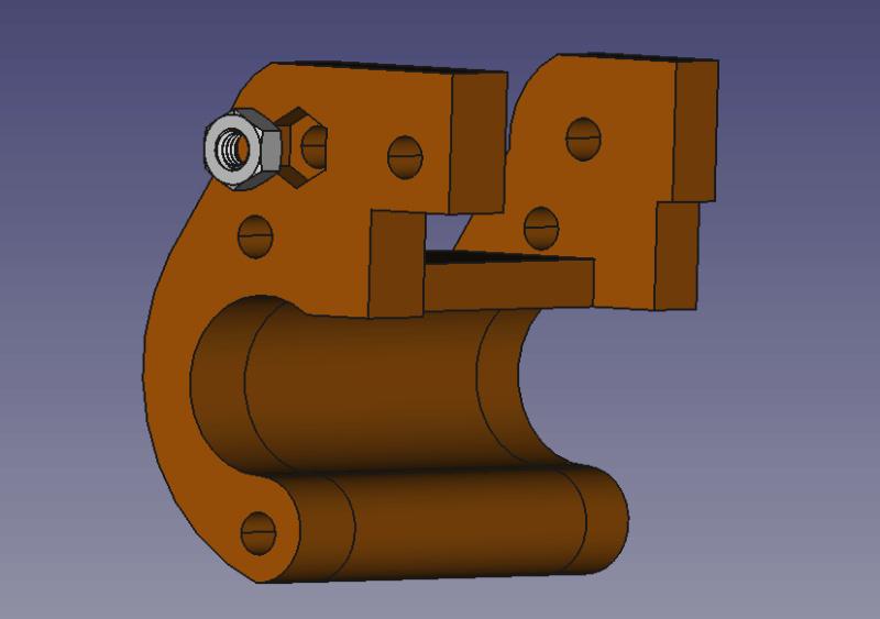 Impression 3D : un support d'appareil à retomber dans le pas Captur66