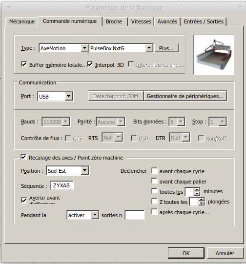 Présentation CNC Makko M1070 Su Comman10