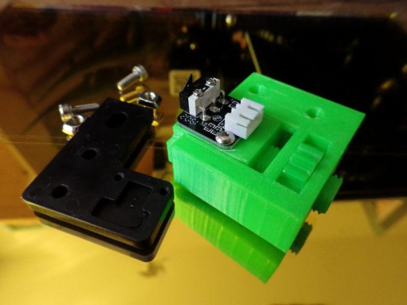 Ender 3 : modification pour un réglage du plateau facilité Ender_12