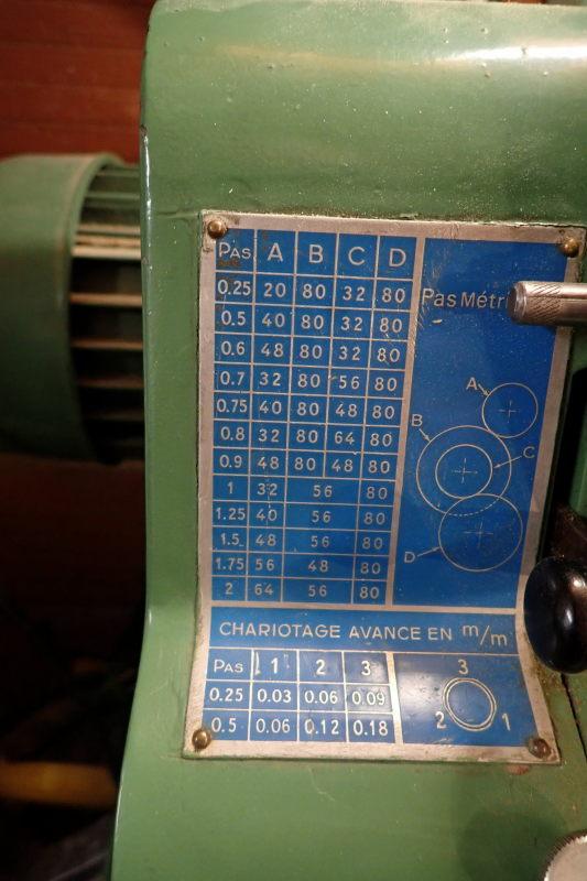 [VENDU] Tour à métaux Précis  E (1964) Engren10