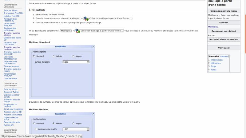 exportation DAO vers fichier .stl Freeca13