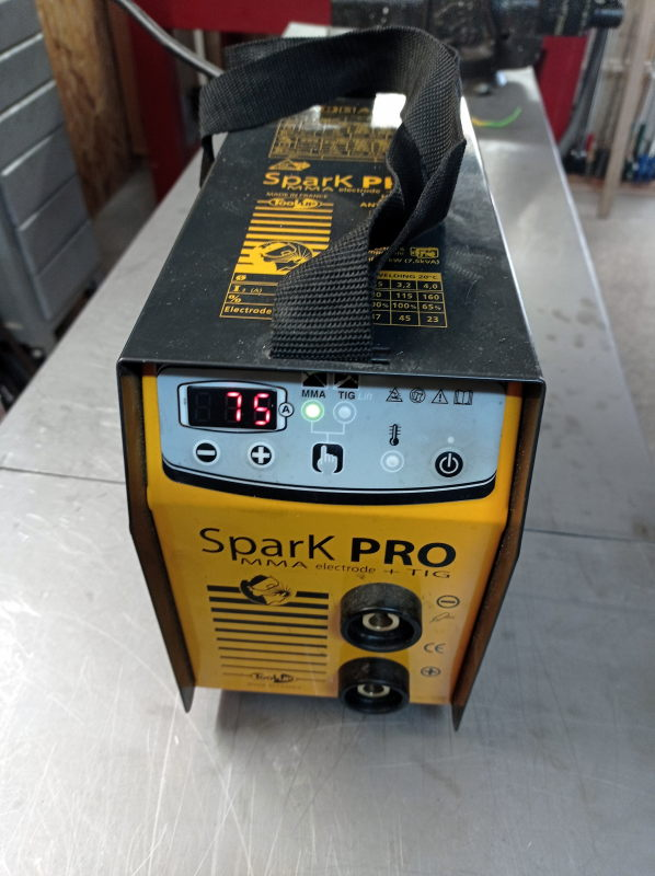 [VENDU] Poste soudure Inverter Spark Pro MMA - TIG  160 A Img_2158