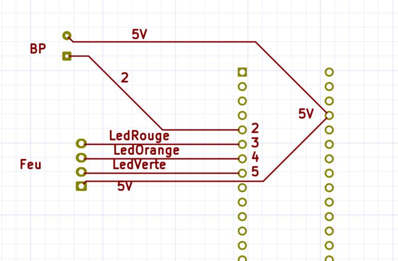 [Train bois] Passage à niveau piloté par Arduino K1410
