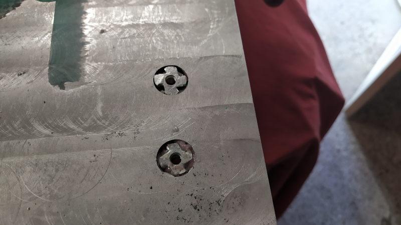CNC : fraise cassée dans de l'alu 6061 - Page 2 Lamage13