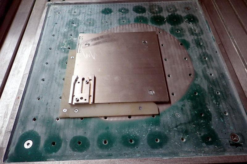 Cambam :des paramètres à confirmer pour usinage de brides alu P3231410