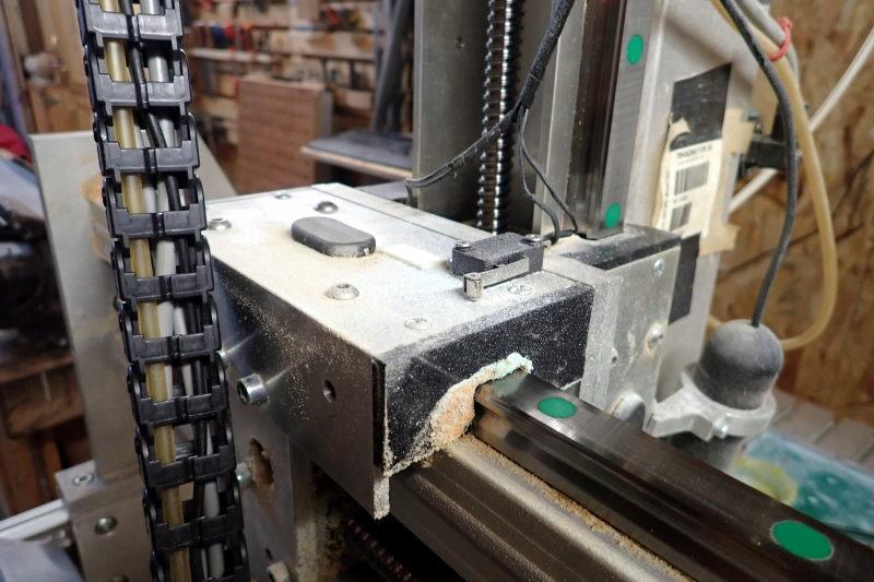 CNC : quelle quantité au graissage ? P3251414