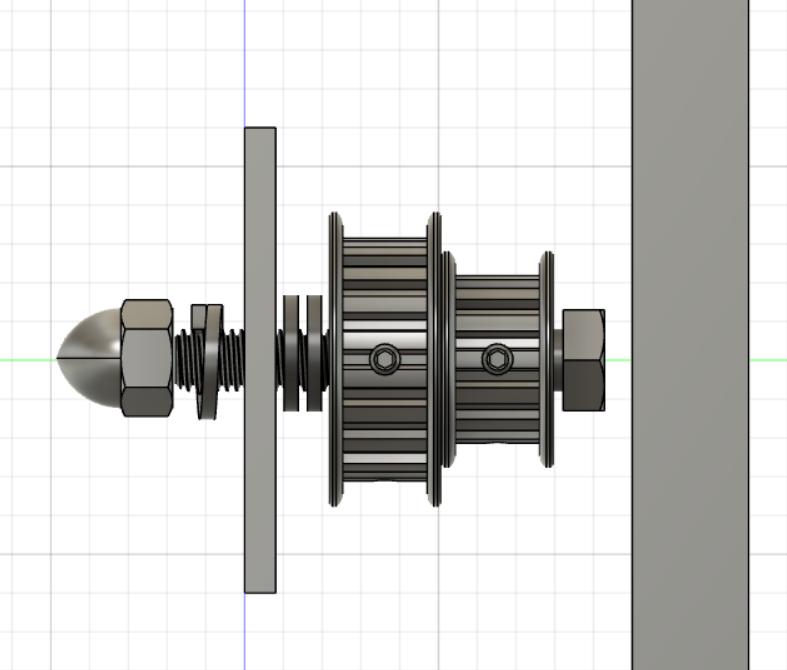 CNC : claquements en déplacement lent seulement V110