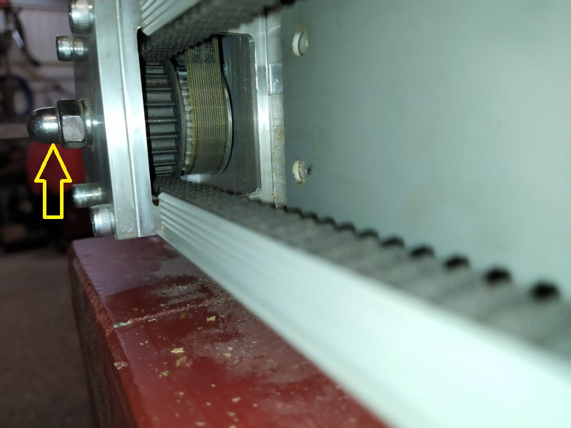 CNC : claquements en déplacement lent seulement V310