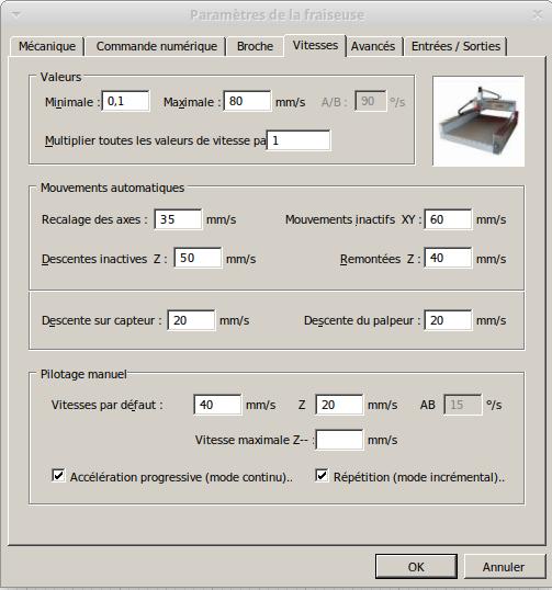 Présentation CNC Makko M1070 Su Vitess10