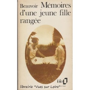 [de Beauvoir, Simone] Mémoires d'une jeune fille rangée 414qhc10