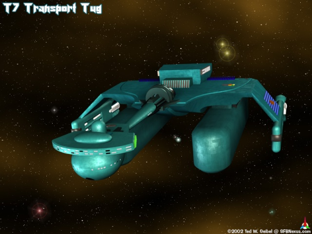 "Star Trek D-7 converti en ""Tug"" K-tug-10"