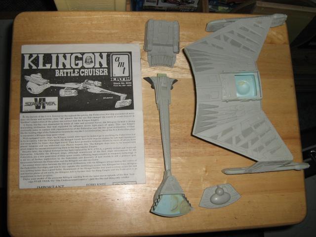 "Star Trek D-7 converti en ""Tug"" Klingo11"