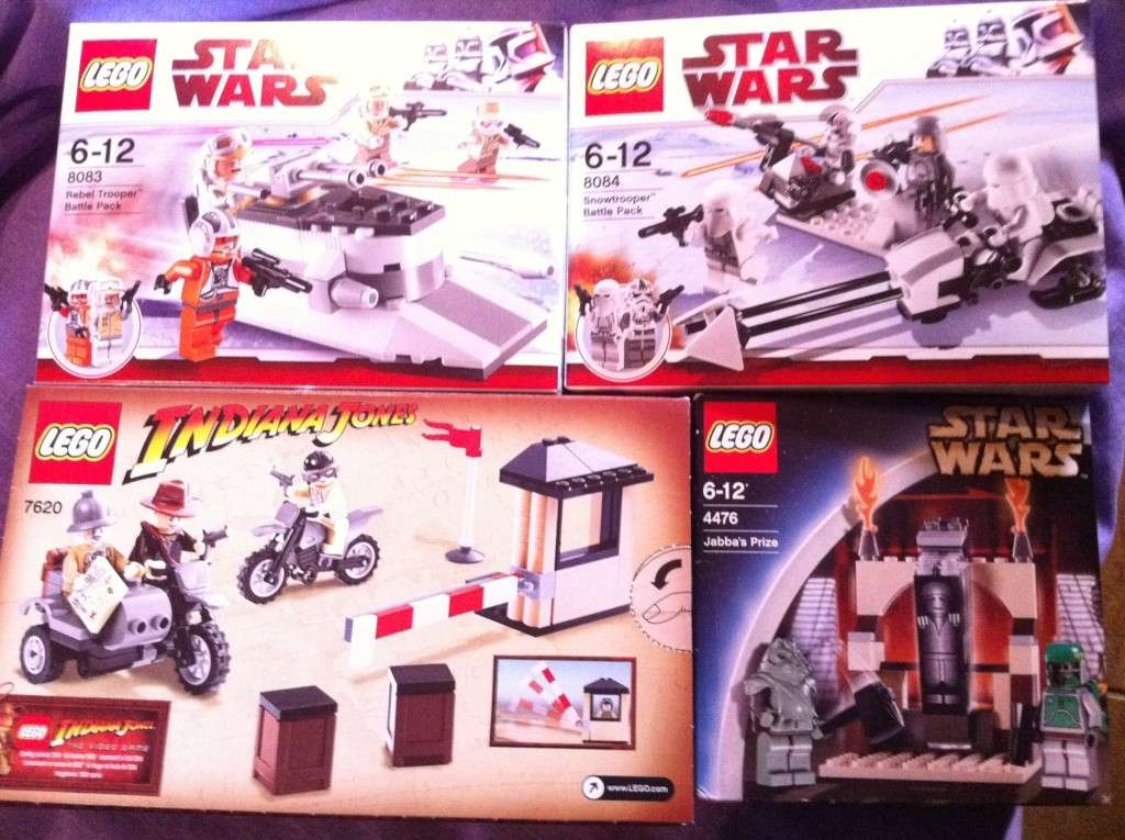 FS:LEGO BOXED LOT,STAR WARS #8083,8084&4476 AND INDIANA JONES #7620 Img_4316