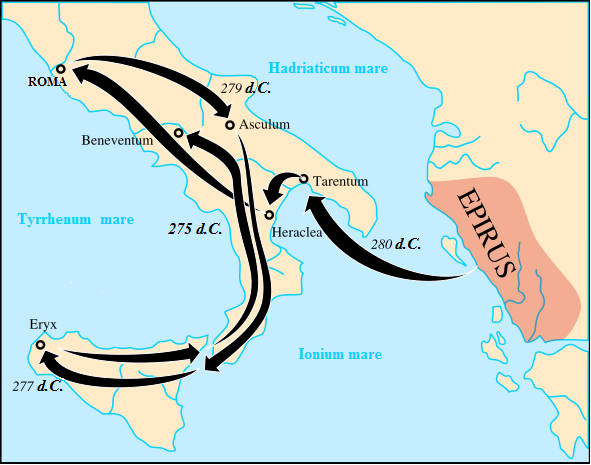 La battaglia di Maleventum - 275 a.C. 1_camp10