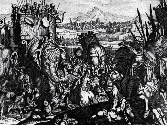 La battaglia di Maleventum - 275 a.C. 2_elef10