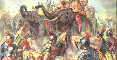 La battaglia di Maleventum - 275 a.C. 3_elef10