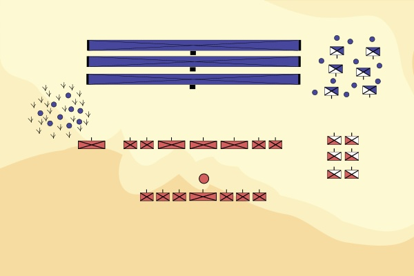La battaglia di Argentoratum - VIII. CCCLVII. A.D. Battle10