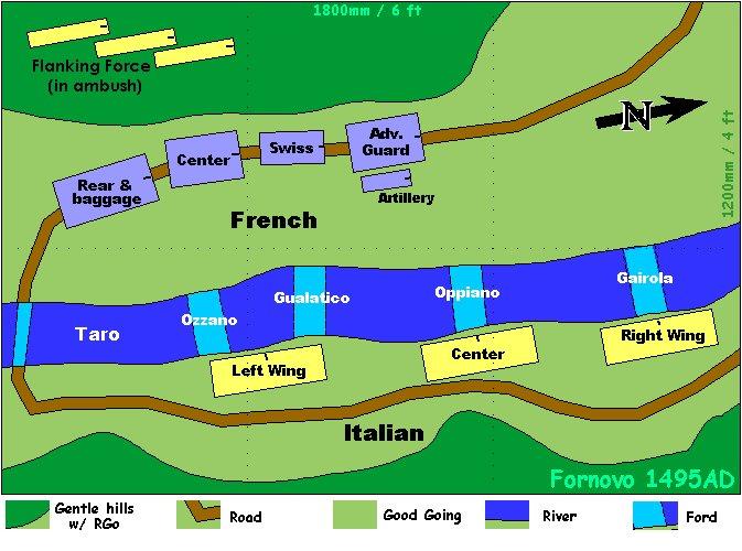 La battaglia di Fornovo - 6. VII. 1495 Fornov11