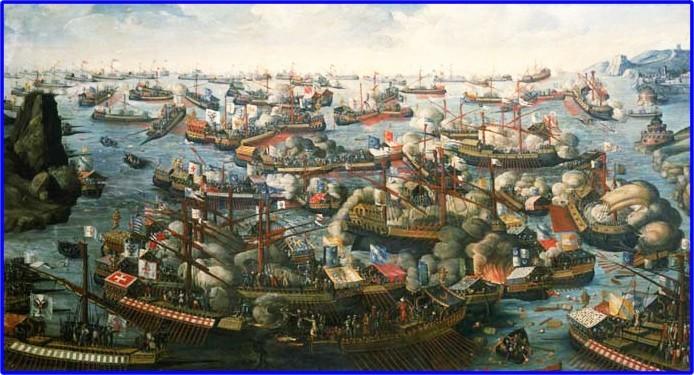 La battaglia di Lepanto - 7 ottobre 1571 con Capitano da mar! La_bat11