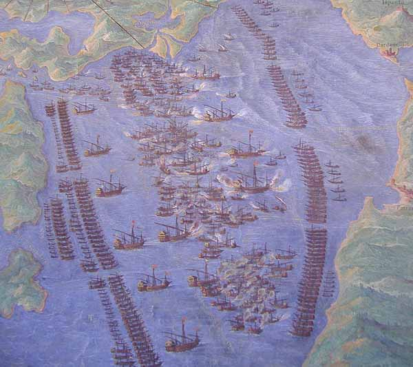 La battaglia di Lepanto - 7 ottobre 1571 con Capitano da mar! La_bat12