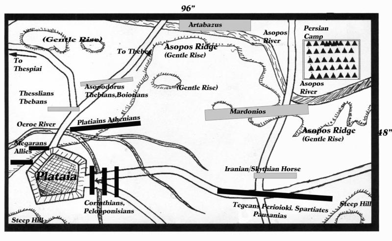 La battaglia di Platea 20 agosto 479 a.C. con Armati2 Platai10