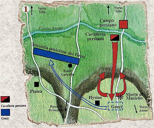 La battaglia di Platea 20 agosto 479 a.C. con Armati2 Platea10