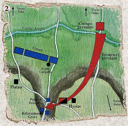 La battaglia di Platea 20 agosto 479 a.C. con Armati2 Platea11