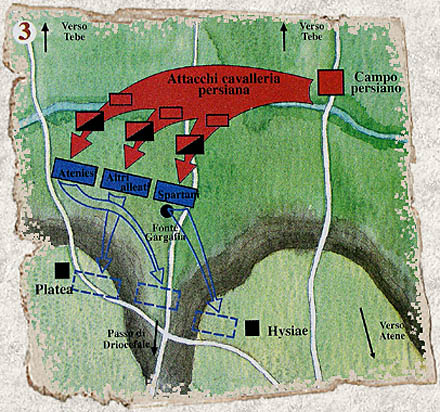 La battaglia di Platea 20 agosto 479 a.C. con Armati2 Platea13