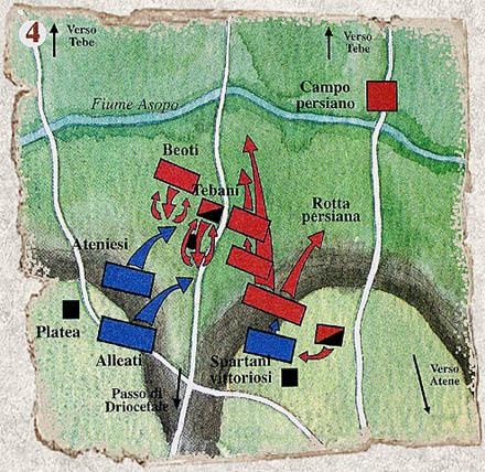 La battaglia di Platea 20 agosto 479 a.C. con Armati2 Platea14