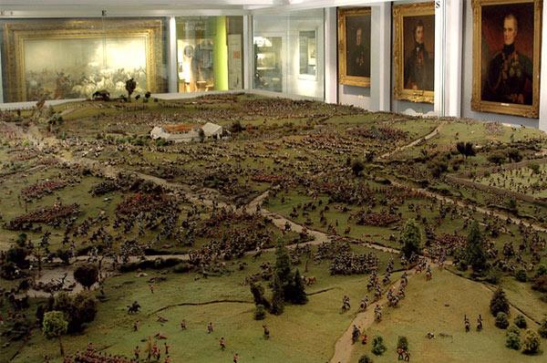Il diorama di Waterloo Waterl10