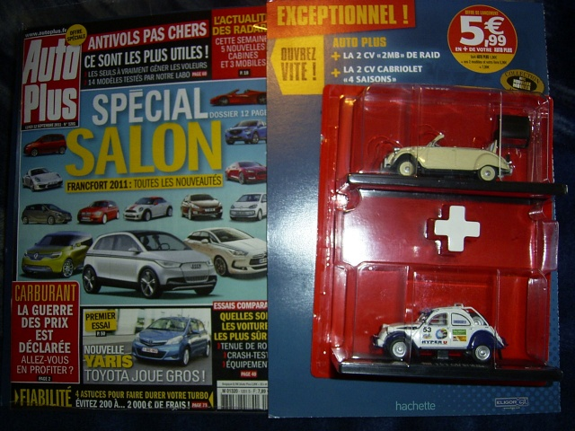 Collection 2 CV Hachette - AutoPlus 00116