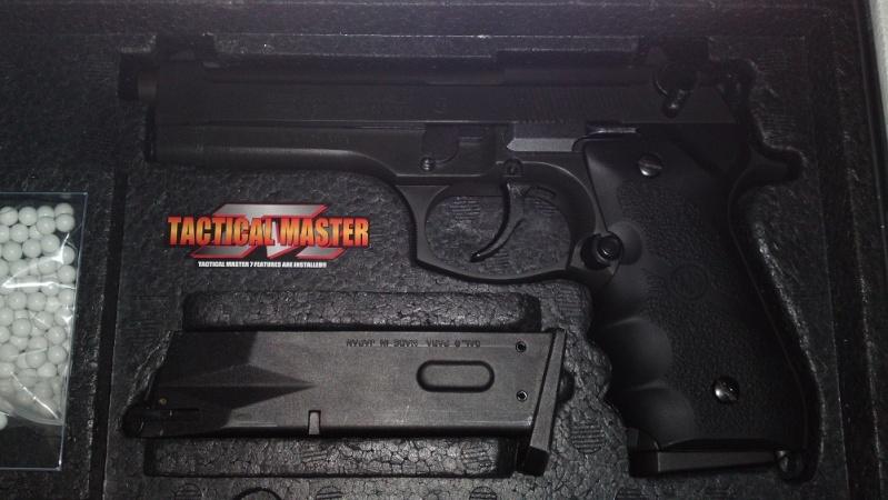 M9 Elite Tactical Master Full Métal Marui 00113