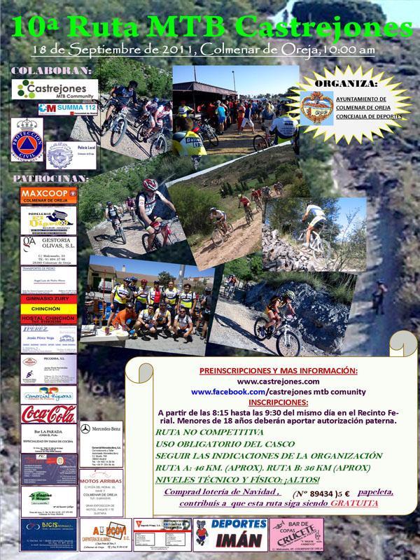 10ª Ruta de los Castrejones 2011 Cartel10